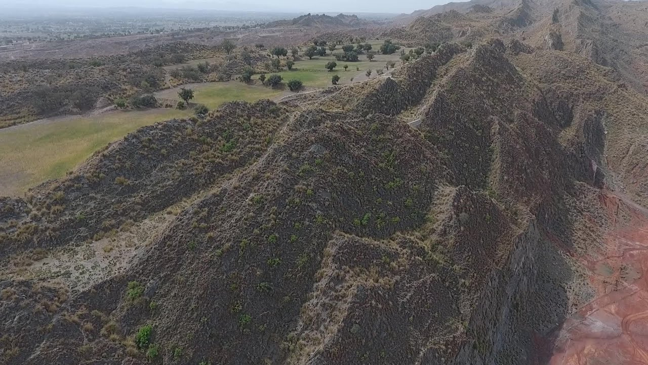 Cliffs and Mountain in Karak, Khyber Pakhtunkhwa, Pakistan