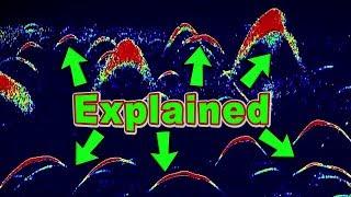 Garmin Striker 4 Fish Arch Interpretation (How your Fish Finder Works) Understanding Sonar Images