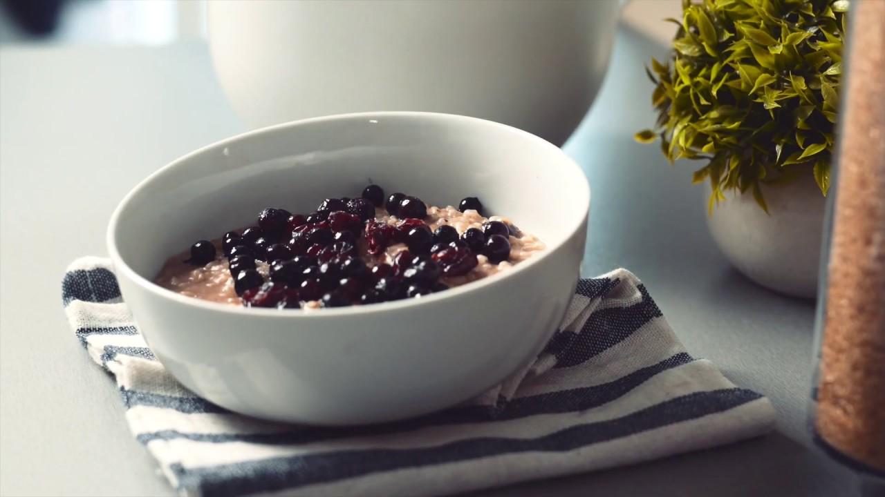 Tesla Healthy - Chocolate Hazelnut Rice Pudding