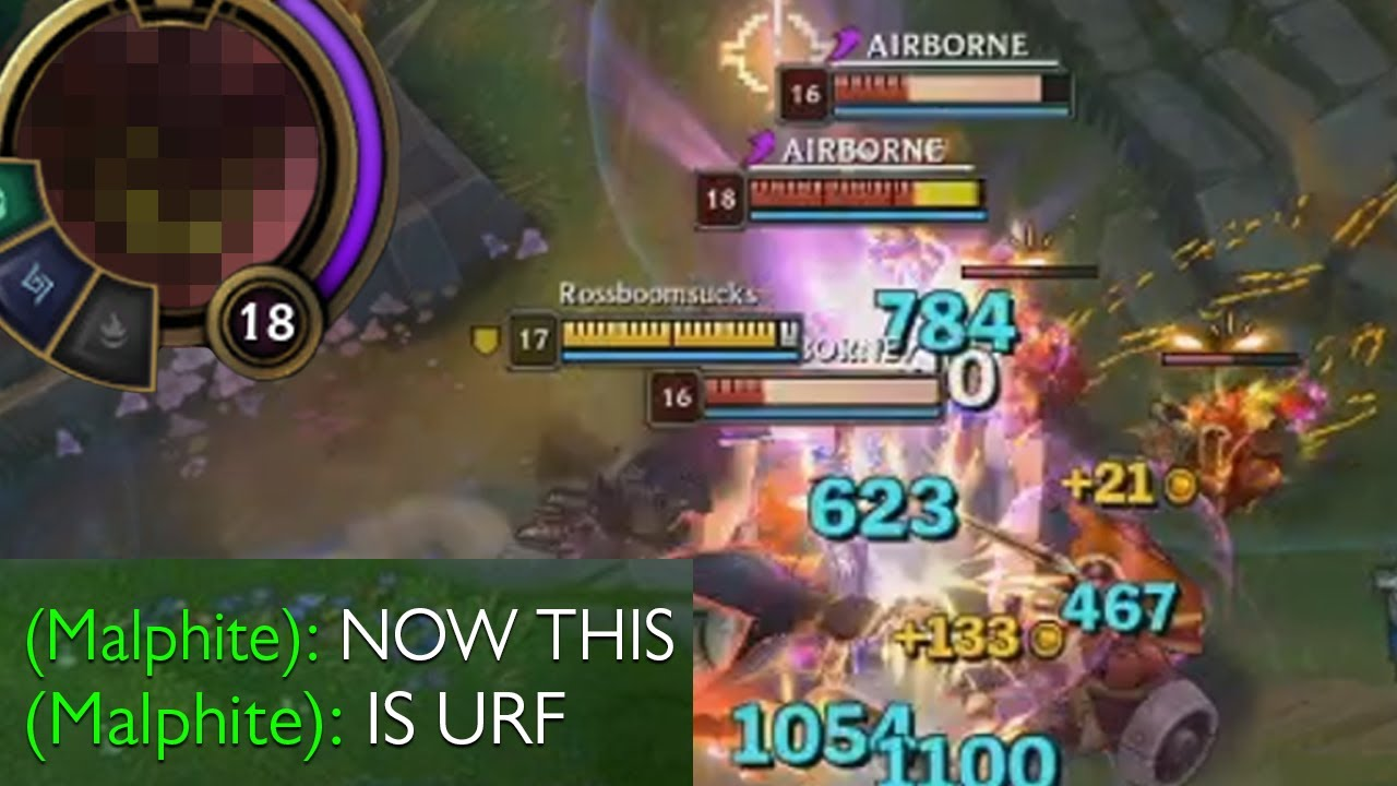 League of Legends but URF is back and it\u0027s the good URF this time that is  broken and only one shots