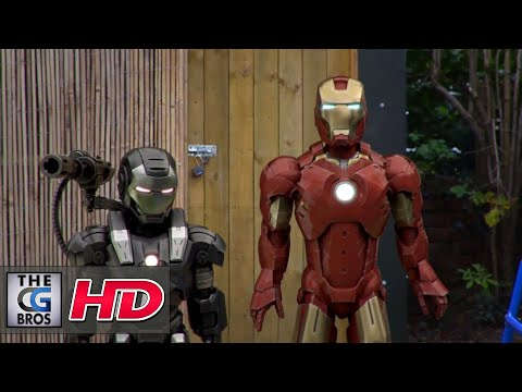"CGI & VFX Short Films: ""Ironman & Warmachine Are Late For School""  - by Andrew Lavery & Mathew Rees"