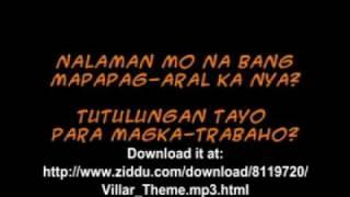 "Manny Villar's ""Nakaligo Ka Na Ba"" Minus One"