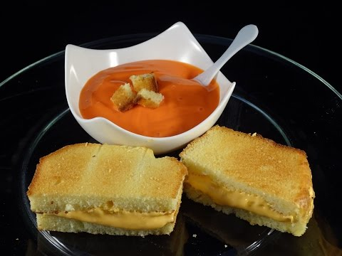 Food that Fools!  Grilled Cheese and Tomato Soup -with yoyomax12
