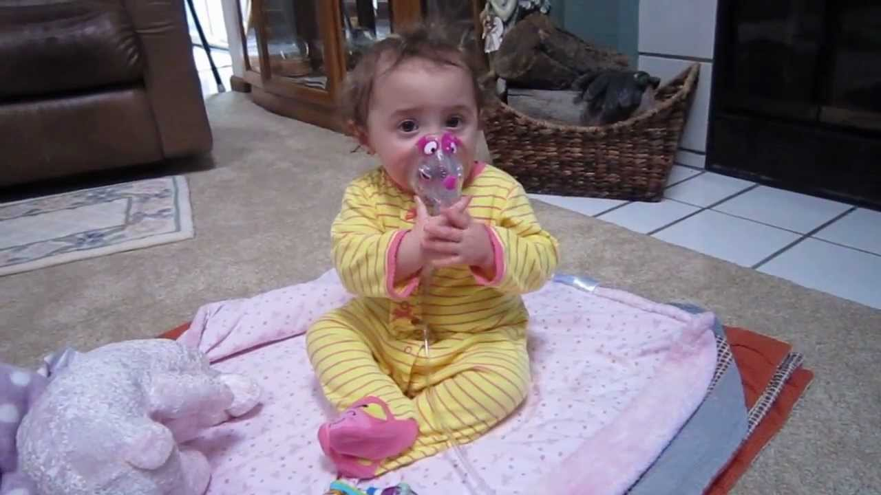 Baby S Breathing Treatment Youtube