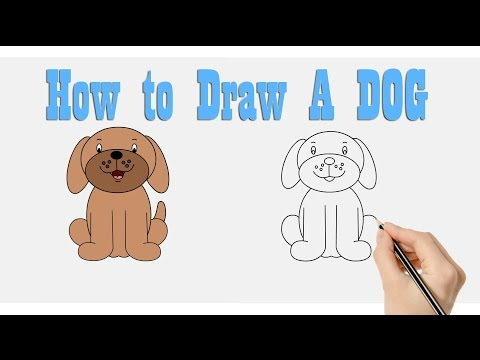 How To Draw Dog Fun Learning Art Activity For Kids