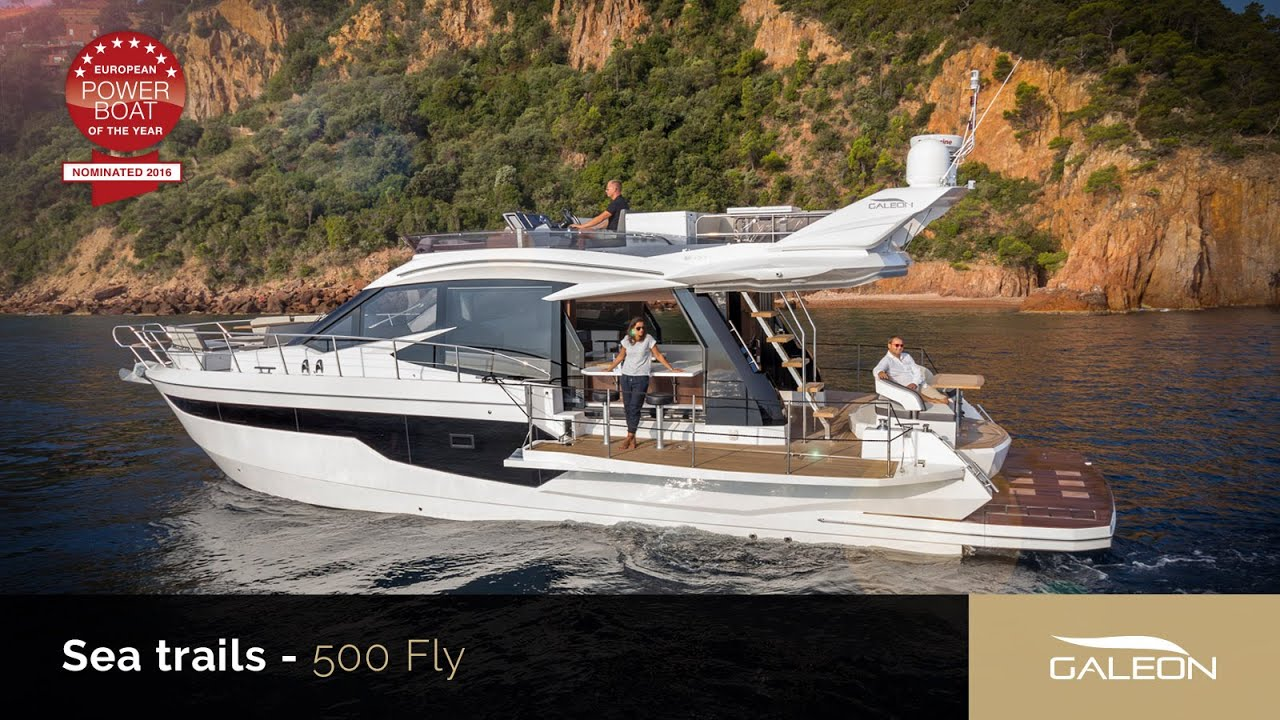 Galeon 500 Fly | Hong Seh - Luxury Boats, Premium Quality Yachts ...
