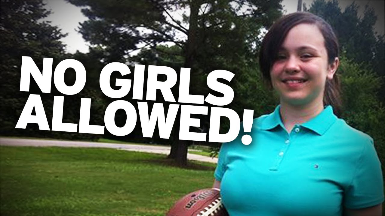 12yo Girl Kicked Off Football Team, FOR BEING A GIRL!