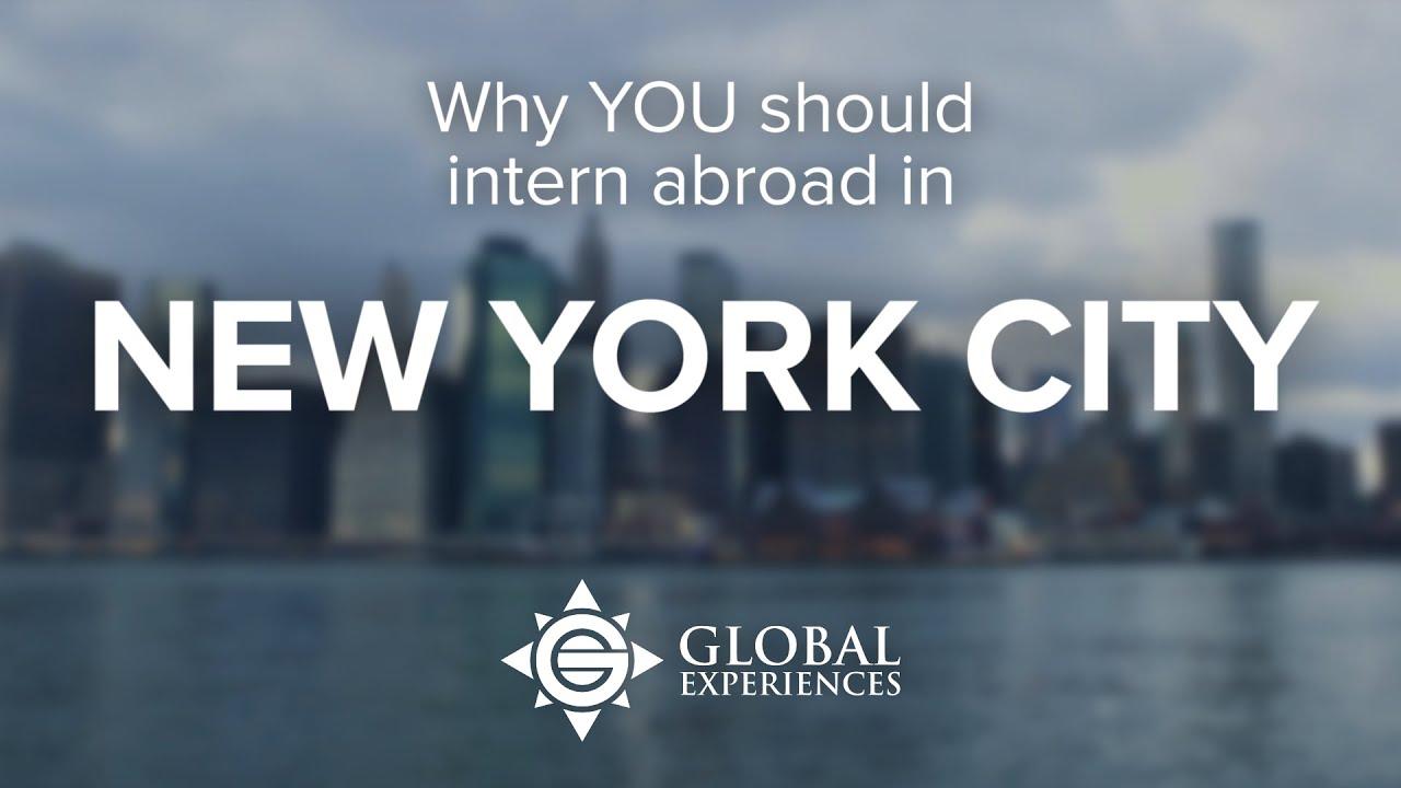 Global Experiences Internships In New York City Go Overseas