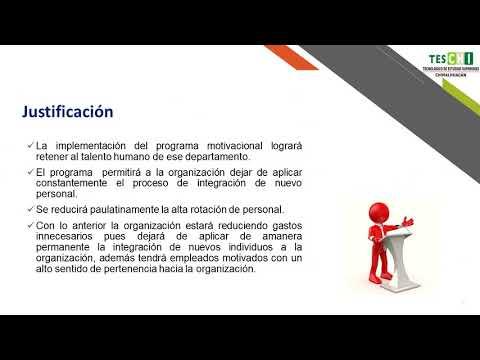 (362) Programa de factor motivacional para reducir la rotación del personal  en la empresa...