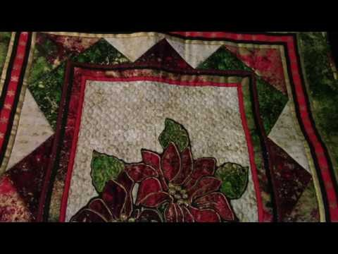 Easy Way To Add Free Motion Quilting Or Sewing To Preprinted Panels