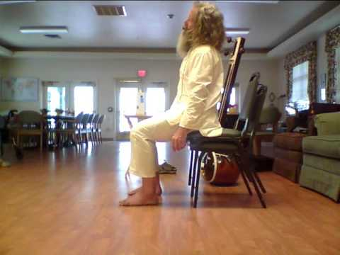 Chair Yoga: Eye Exercises for Better Vision (Side View) 2