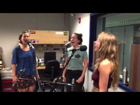 """The T Sisters singing """"Parting Glass""""at KALW radio"""