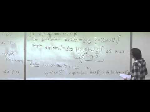 Lie algebras and their representations 2