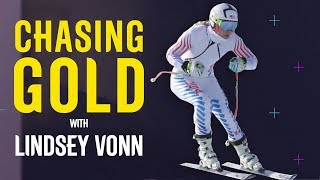 Lindsey Vonn Gets Put Through Her Paces in Training | Chasing Gold | Pyeongchang 2018 | Eurosport