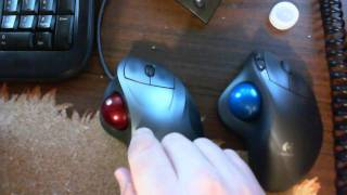 Logitech Wireless Trackball M570 & TrackMan Wheel