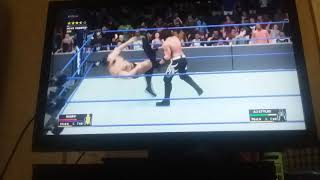 Wwe 2k18 universe aj styles vs rusev for the unstated states championship