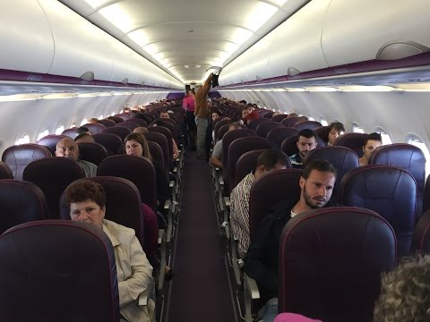 Wizz Air Airbus A320-200 Economy Class Review
