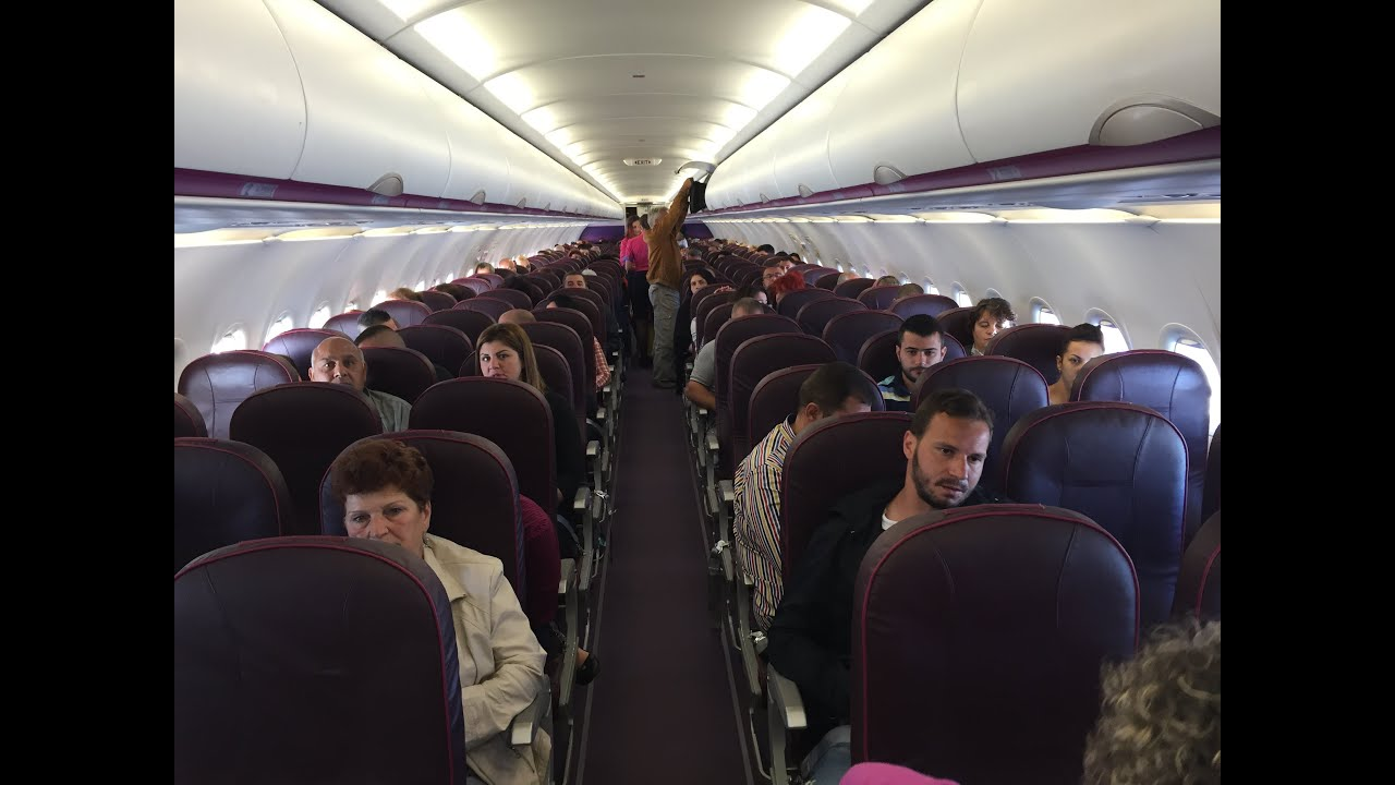 Wizz Air Airbus A320 200 Economy Class Review Youtube