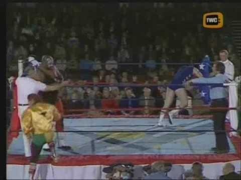 World Of Sport - Mississippi Mauler (Kamala) vs Tom Tyrone pt.1