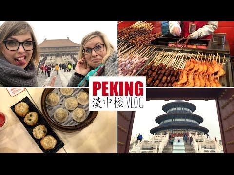 Peking Vlog – Zakázané Město, Jídlo, Jím brouky