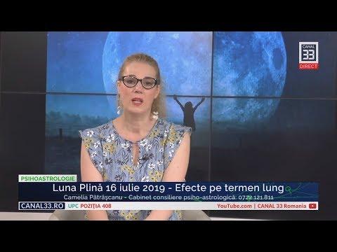 Luna Plină 16 iulie 2019 - Efecte pe termen lung
