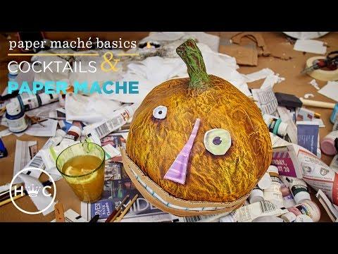 Paper Maché Basics (Ep. 1) | Cocktails & Creativity