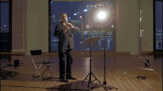 Zoon (2020) op.11H for b-flat clarinet and mp3, by OZNO(James Boznos) - Andrew Simon, clarinet