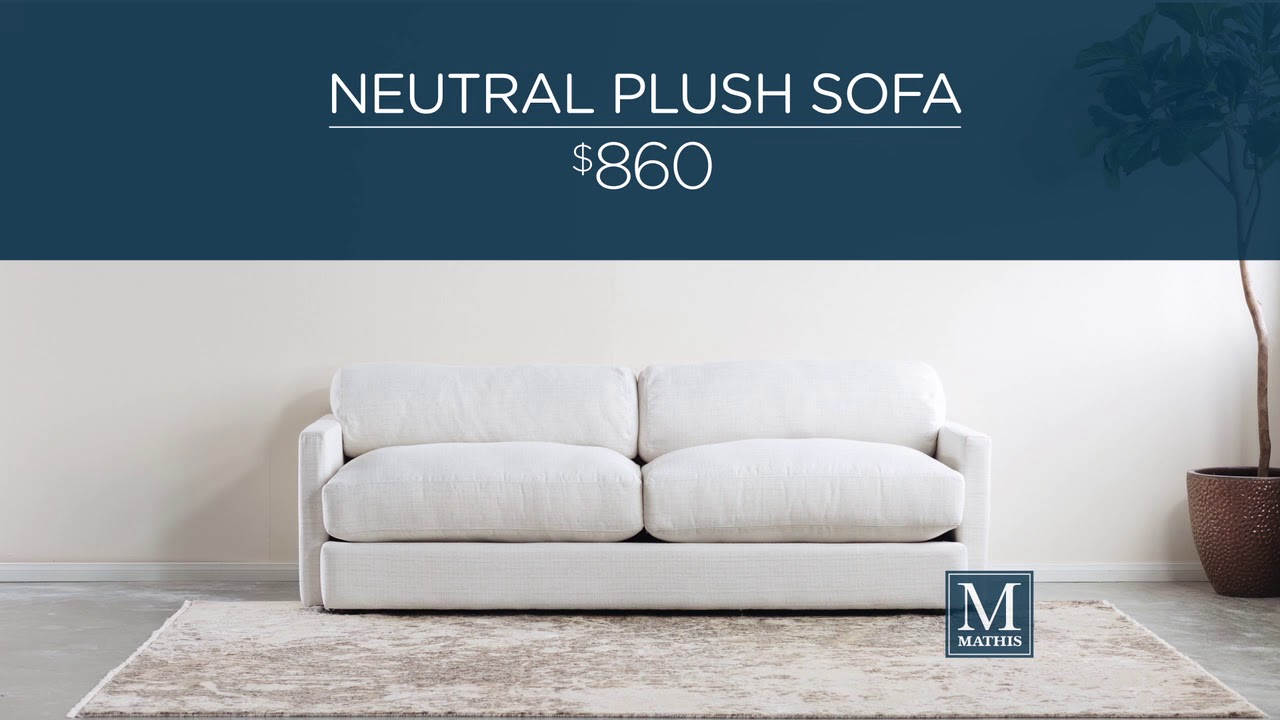 One Sofa, Two Styles (8055) www.mathisbrothers.com - YouTube