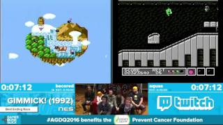 Gimmick! by aquas, becored in 10:23 - Awesome Games Done Quick 2016 - Part 73