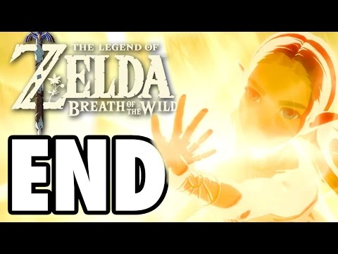 ENDING Final Boss Battle CALAMITY GANON - The Legend Of Zelda: Breath Of The Wild - Gameplay Part 9