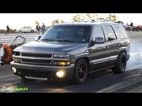 I Can't Believe He Made a TAHOE that fast! Turbo Time!!