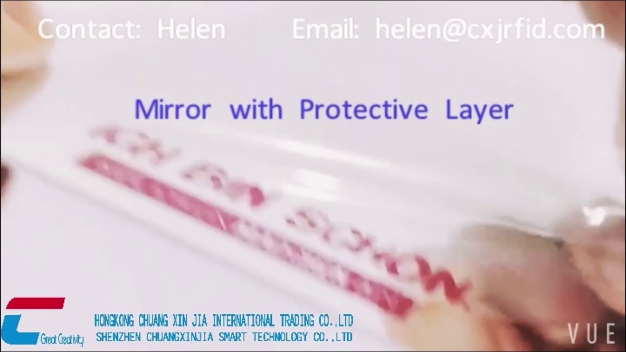 Mirror finish business cards free design - YouTube