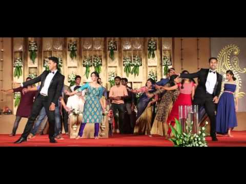 Wedding Flash Mob | Premam Song | Rock Kuthu | 2015