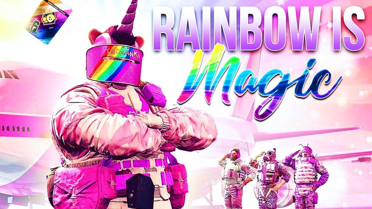 Regenbogen ist Magie! (Der beste neue Modus in der Belagerung) + video