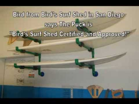 How To Make A Pvc Pipe Wall Mounted Surf Rack Youtube