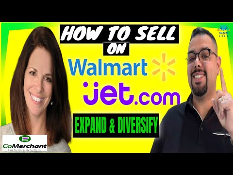 How To Sell On Walmart & JET! Expand & Diversify Your Amazon Business With Barbara Boschen
