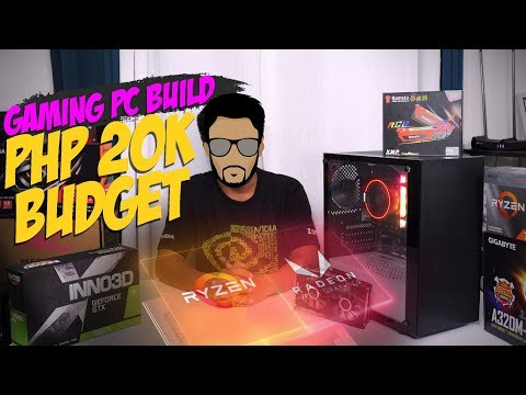 Php 20 K Budget Gaming Pc Build Ft Amd Ryzen 3200 G 12 Games