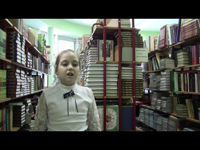 Изображение предпросмотра прочтения – МарголинаВероника читает произведение «Мартышка и очки» И.А.Крылова