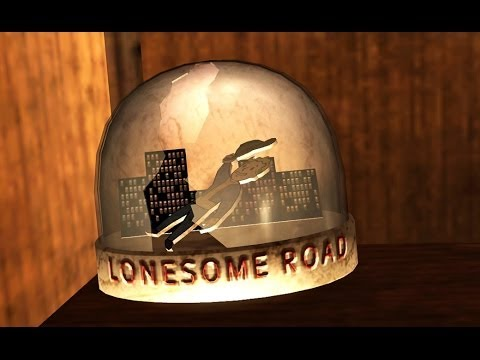 Fallout: New Vegas - SNOW GLOBE - Lonesome Road (LOCATION)