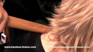Bamboo-Fusion Chair Massage Demo