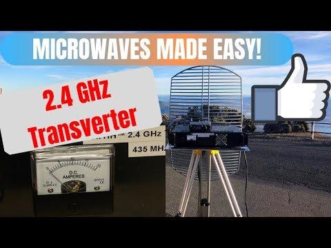 A Ham Radio Transverter For The 2.4 GHz Band (13cm)