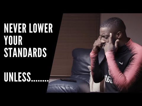 dating lower your standards