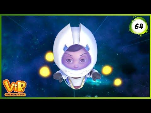 Vir: The Robot Boy   Satellite Launch   Action cartoons for Kids   3D cartoons