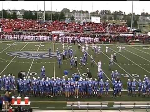 6A - #7 Fishers Tigers at 6A - #12 Hamilton Southeastern Royals - High School Football - 9/12/2014