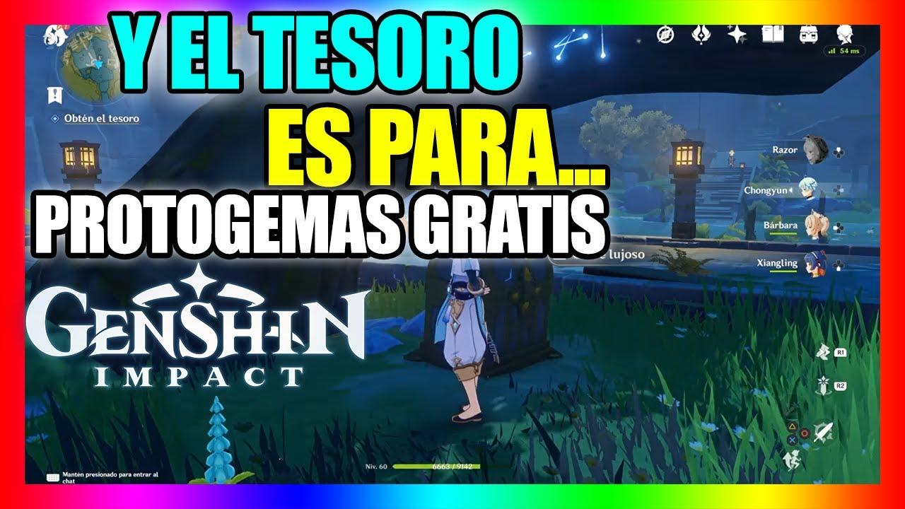 Y El Tesoro Es Para Mision Secundaria Genshin Impact Ps4 Español Protogemas Faciles Youtube