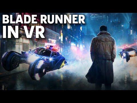 Blade Runner 2049: Memory Lab - VR Gameplay   Oculus Connect 4