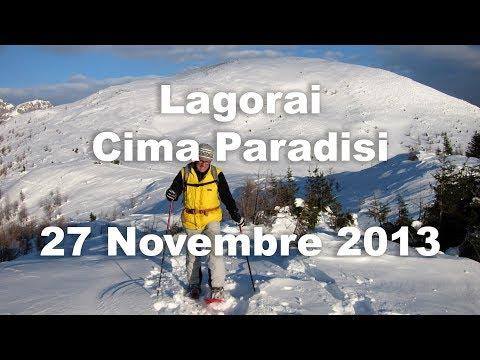 Lagorai - Cima Paradisi - 27 Novembre 2013 - Ciaspole