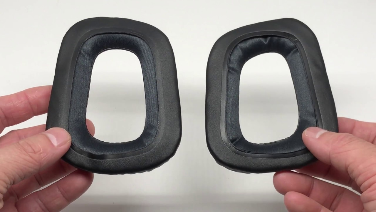 Replacement Cushion Ear Pads For Logitech G35 G930 G430 F450 Headphones 4k