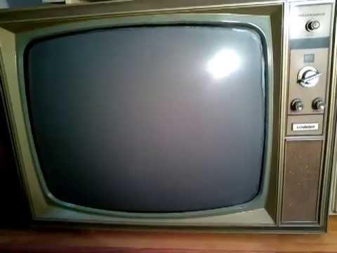 Televisores antiguos a os 60 70 youtube - Television anos 70 ...