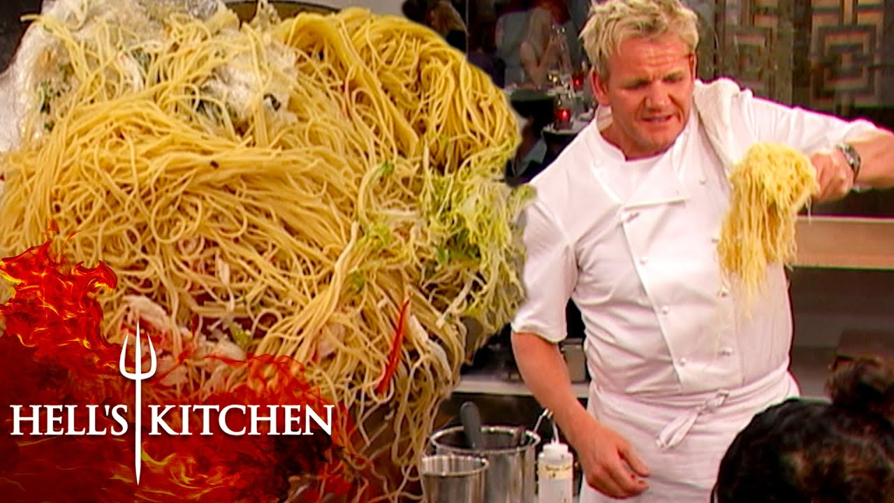 Download Gordon Ramsay Finds An Impossible Amount Of Capellini   Hell's Kitchen